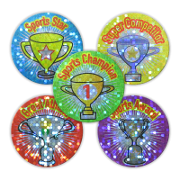 Sticker: Cups Of Success - Sparkling