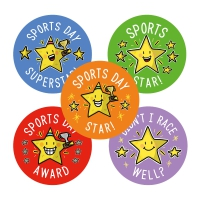 Sticker: Sports Day Participation Variety Pack