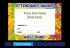 Personalised Certificate: School Name And Award (48 Per Pack)