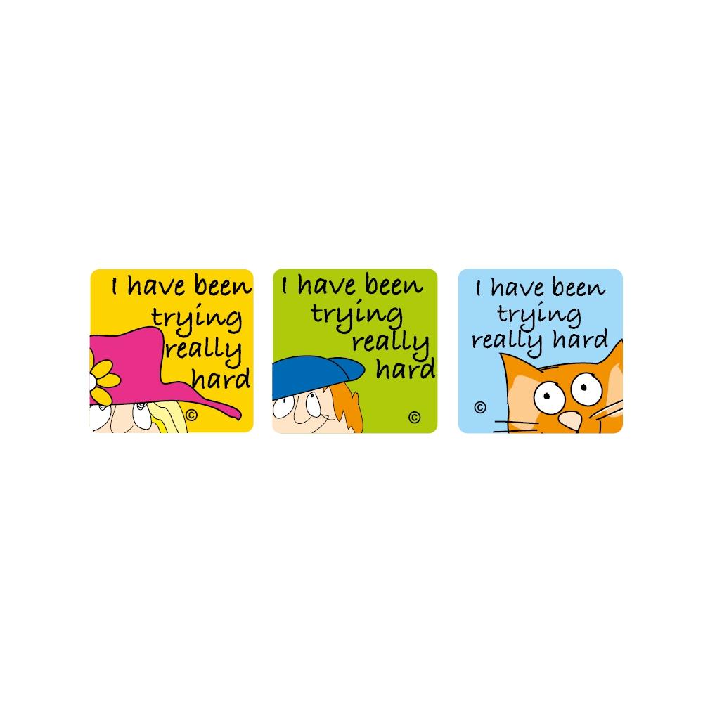 Sticker: Square Stickers - SuperKids Affirm 1