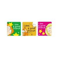 Sticker: Square Stickers - SuperKids Affirm 2