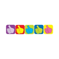 Sticker: Square Mini - Thumbs Up
