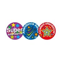 Sticker: Super Attendance, Attendance