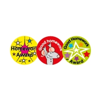 Sticker: Homework Award, Good Homework