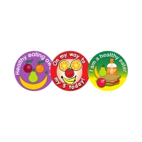 Sticker: Healthy Eating