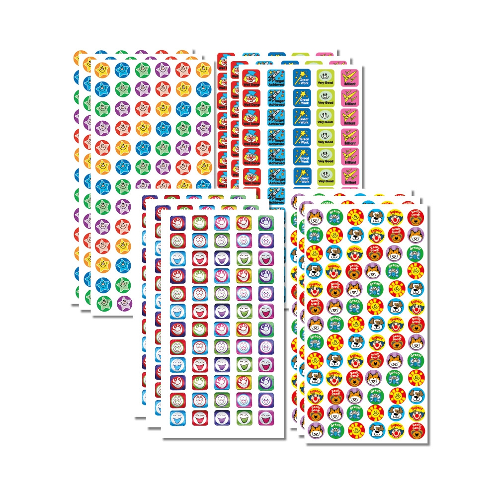 Sticker Solutions: Mini Praise - Multibuy (828 Stickers)