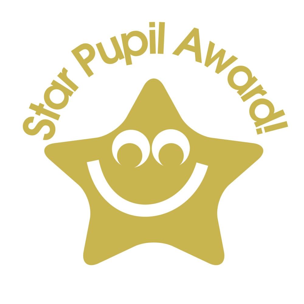 Stamper: Star Pupil Award - Gold