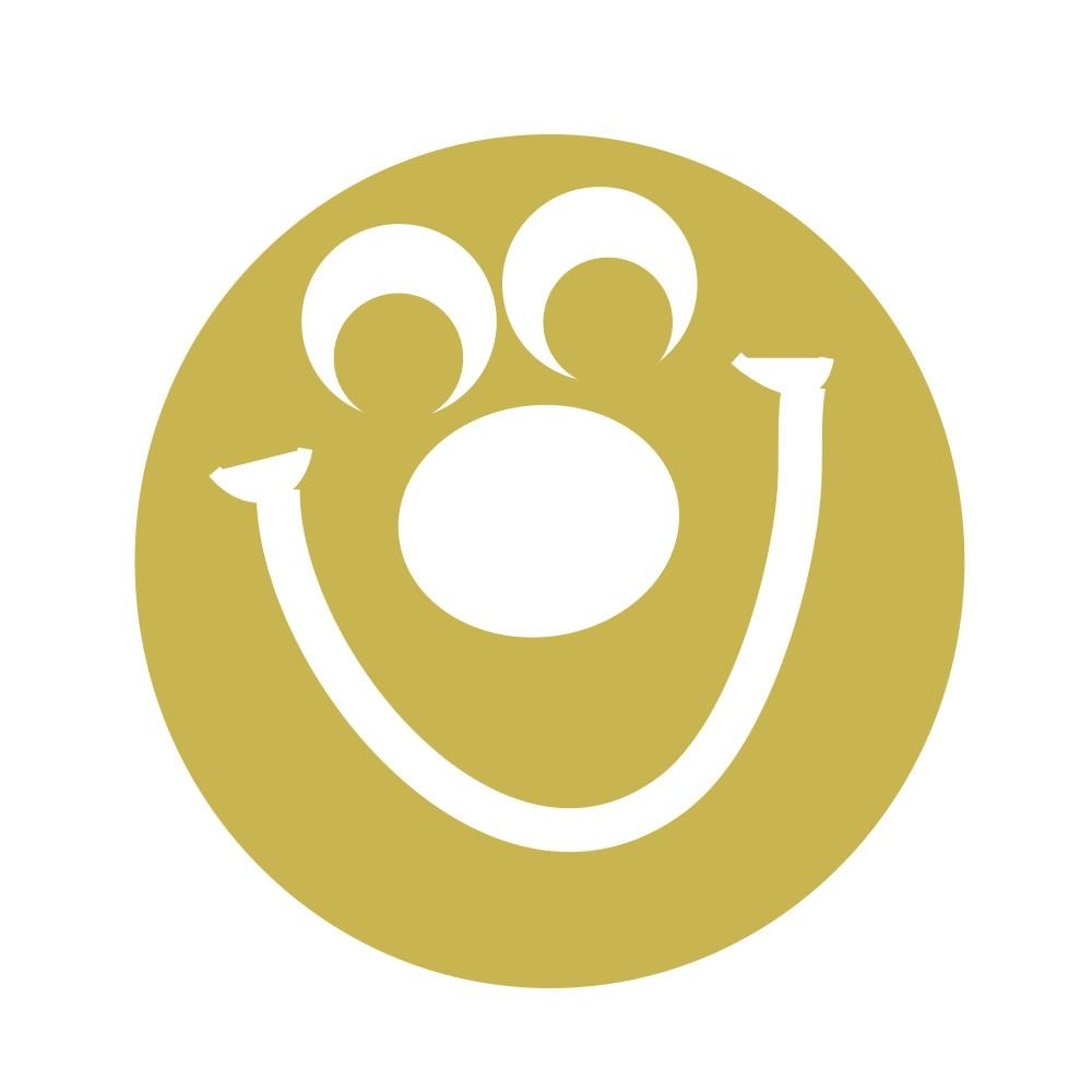 Stamper: Smiley Face - Gold