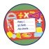 Exercise Book Labels: Maths2