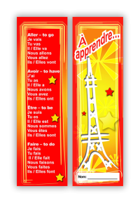 Bookmark: French Verbs