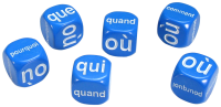 Games: French Question Dice