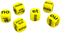 Games: French Conjunctions Dice