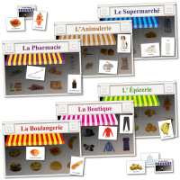 Games: French Shopping