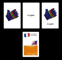Games: Les vêtements Card Pack
