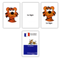 Games: Les animaux Card  Pack