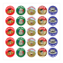 Sticker: French Foods Variety Sheet