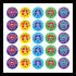 Sticker: French Praise in English - Variety Sticker Sheet