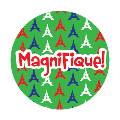 Sticker: Magnifique Eiffel Towers