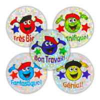 Sticker: French Sparkling Variety Sheet