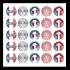 Sticker: French Praise Variety - Metallic Foil