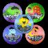 Sticker: French Dinos Variety - Metallic Foil