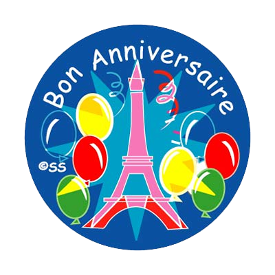 Sticker: French Birthday