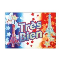 Postcard: Tres Bien - French Sparkling