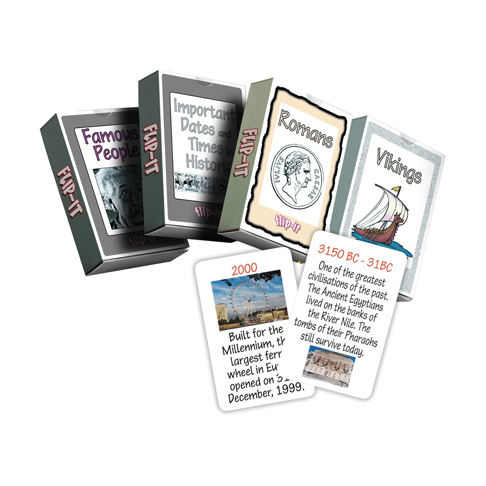 History Flip It Cards Set