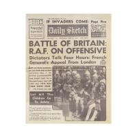 Battle of Britain Newspaper