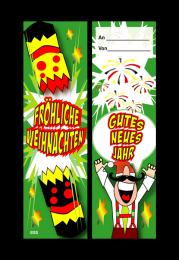 Bookmark: German Christmas Cracker