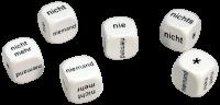 Games: Set of 6 German Negatives Dice