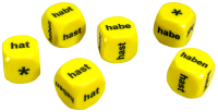 Games: Set of 6 German Haben Dice