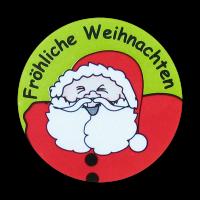 Sticker: Fröhliche Weihnachten