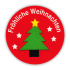 Sticker: Frohliche Weihnachten