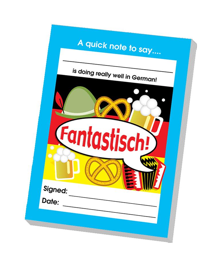 Notepad: Fantastisch! - Teacher Quick Notepad