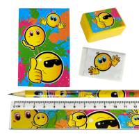 Stationery Set: Happy Face