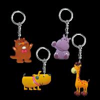 Gifts: Animal Keyrings