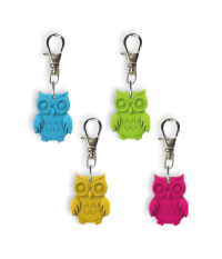 Gifts: Owl Zipper Charms