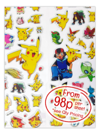 Sticker: Pokemon Puffy