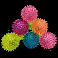 Gifts: Spikey Flashing Light Balls