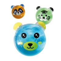 Animal Face Putty Tubs - 48 Pack