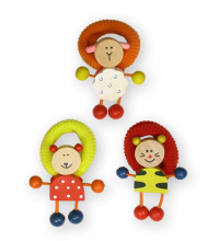 Gifts: Wooden Character Hairbands