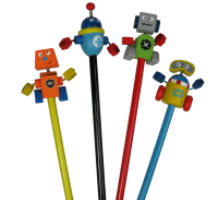 Gifts: Robot Pencils