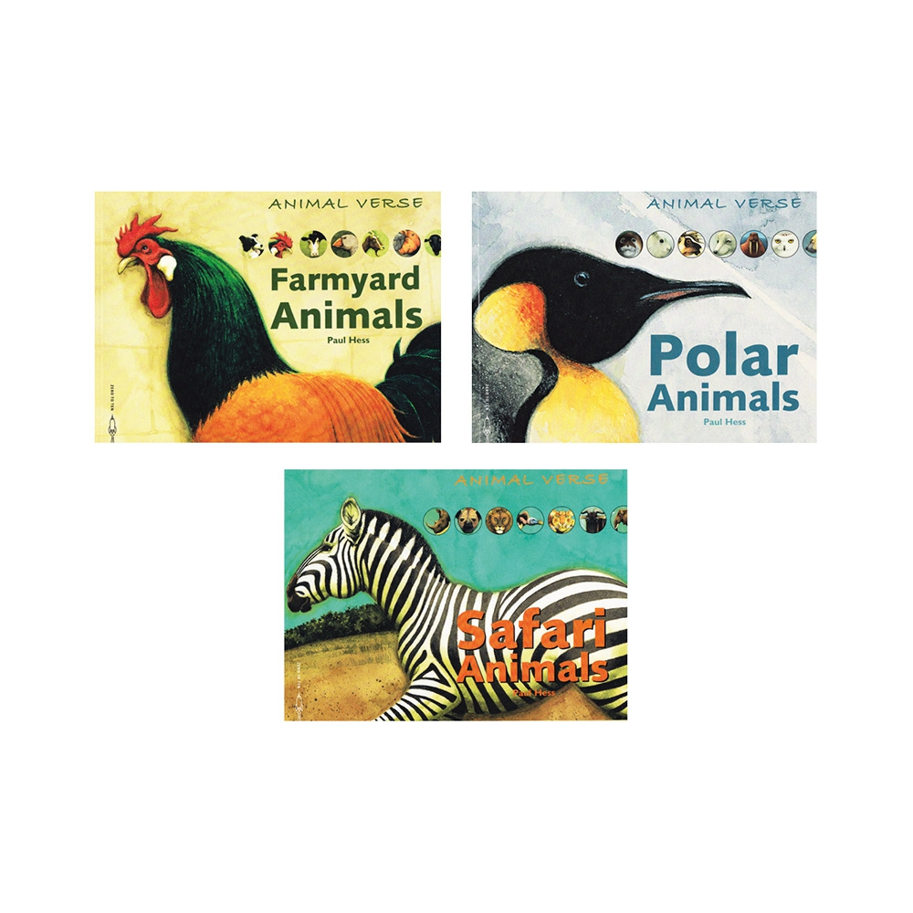 Book: Animals Poetry - Pack Of 3