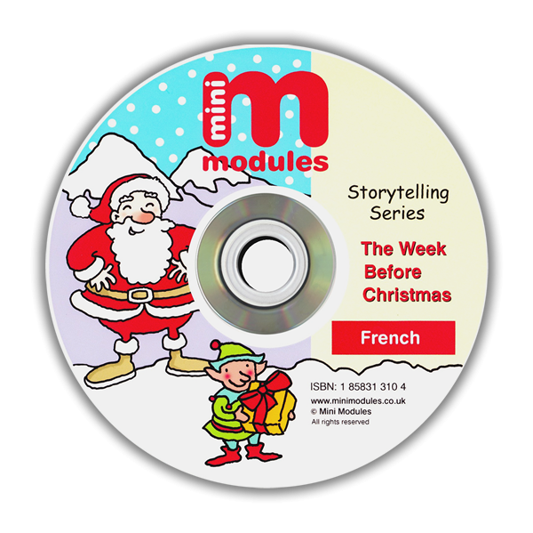CD-ROM: The Week Before Christmas - French Version