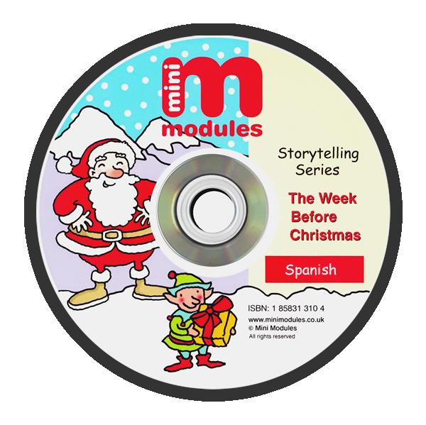 CD-ROM: The Week Before Christmas - Spanish