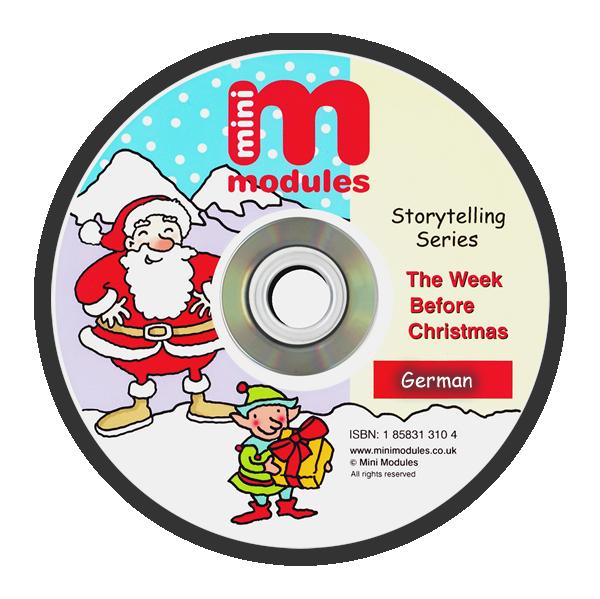 CD-ROM: The Week Before Christmas - German