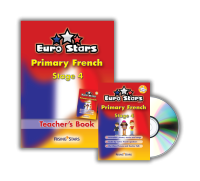 CD-ROM: Euro Stars Primary French Stage 4 Pack