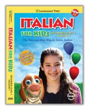 CD-ROM: Italian DVD for Kids Vol 1