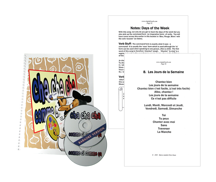 CD-ROM: French Songs CD1 - Cha Cha Cha